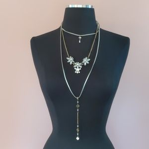 Three-tiered Necklace